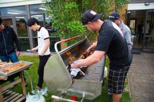 Ein neuseeländisches BBQ zur Entspannung