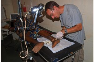 Klinikalltag in Gambia